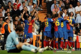 Hari ini tahun 2009, Barcelona lumat Madrid 6-2 di Santiago  Bernabeu