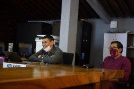 Wali Kota Kediri peringati Hardiknas melalui konferensi video