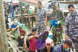 Lanal Tanjung Balai Asahan Sumut amankan 27 TKI Ilegal