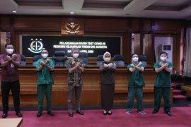 100 pegawai Kejati DKI Jakarta jalani tes cepat deteksi COVID-19