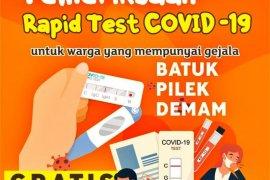 Pemkot Batam ajak warga ikuti tes cepat COVID-19 gratis