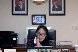 Menteri PPPA Bintang Puspayoga ajak guru hadirkan pembelajaran menyenangkan di rumah