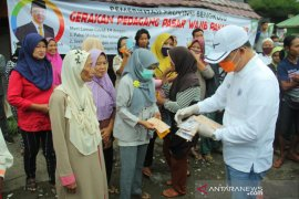Gubernur wajibkan seluruh pedagang pasar tradisional di Bengkulu pakai masker