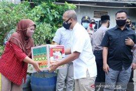 Alumni Akpol 93 lakukan aksi sosial di Palembang