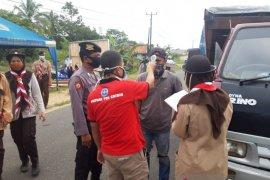 Tim Gabungan perketat pengawasan kendaraan masuk ke Kabupaten Bangka Barat