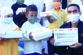 ACT-MRI Maluku bagikan 1.200 paket ifthar gratis untuk santri di Ambon