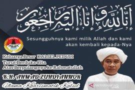 Komunitas Kalsel Peduli duka mendalam atas wafatnya Ulama Kharismatik Guru Zuhdi