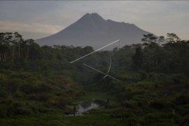 Aktivitas  gunung Merapi masih tinggi