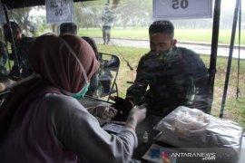 Personel Yonif 715 jalani protokol kesehatan di Gorontalo