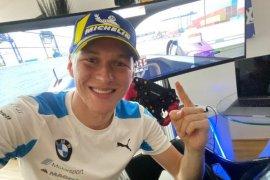 Guenther kembali juara di seri kedua balap virtual Formula