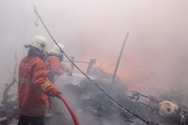 Rumah milik Ketua Fraksi Demokrat-NasDem DPRD Surabaya terbakar