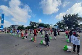 Kota Jambi salurkan 25 ribu paket bahan pokok jaring pengaman sosial COVID-19