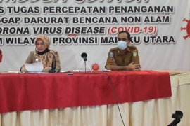 "Gugus Tugas : ""Rapid test"" 123 orang di Malut reaktif COVID-19"