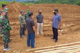 Kementerian PUPR membangun 45 rumah khusus TNI AD di Manokwari