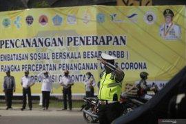 Suami-istri pun tidak boleh berboncengan selama PSBB di Gorontalo