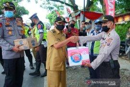 Bupati Asahan kunjungi Pos Pam Operasi Ketupat Toba 2020