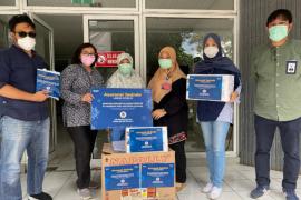 Jasindo salurkan bantuan ke RS Rujukan COVID-19 di 6 kota
