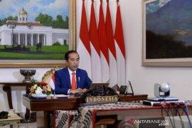 Presiden Jokowi: Kita beruntung sejak awal memilih kebijakan PSBB