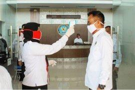 Personel BNN Aceh jalani pemeriksaan COVID-19