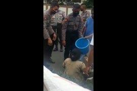 Kasus penyiraman air keras terhadap seorang wanita, pelaku suaminya sendiri