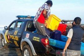 Polres Cianjur temukan bangkai kapal dan nelayan selamat