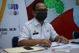 Seluruh Riau ditetapkan zona merah corona, Siak merasa belum termasuk