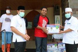 Pemuka agama terdampak COVID-19 di Kota Bengkulu dapat bantuan sembako