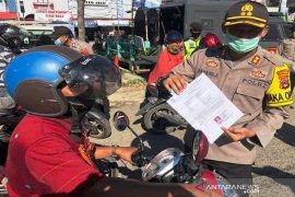 Wakapolresta : Masih banyak warga masuk Kota Banjarmasin karena bekerja