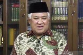 Din Syamsudin mengajak masyarakat saling membantu amalkan ajaran Quran