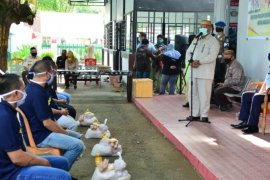 505 warga binaan di Lapas Gorontalo terima bantuan pangan