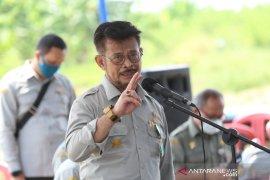 5,6 juta hektare sawah  siap ditanami, Menteri pertanian kebut  percepatan musim tanam kedua