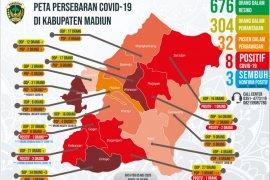 Kabupaten Madiun tambah empat kasus COVID-19 dari Klaster Temboro