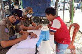 Satpol PP Tangerang catat 831 pelanggaran terkait PSBB