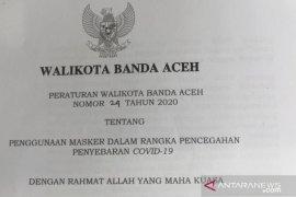 Banda Aceh wajibkan warga pakai masker melalui Perwal