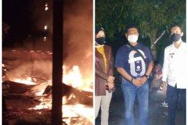 Dua unit rumah di Kota Binjai hangus terbakar