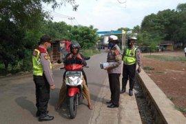 Polres Cirebon sebut masih banyak masyarakat tidak taat aturan PSBB