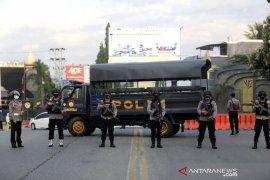 Kapolda Gorontalo tinjau penerapan PSBB di pos pemeriksaan