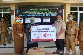 KPw Bank Indonesia Sibolga serahkan bantuan APD COVID-19