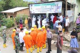 Warga kampung pasien positif COVID-19 di Bener Meriah jalani rapid test