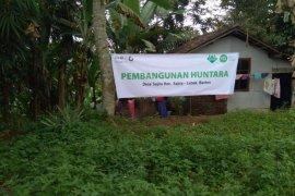 Inisiatif Zakat Indonesia bangun hunian sementara di Kabupaten Lebak