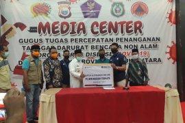 Gubernur Malut terima bantuan APD penanganan COVID-19