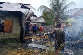 Satu unit rumah ludes terbakar di Aceh Selatan