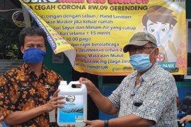 DKP Tangerang bantu KWT Tangerang perlengkapan kesehatan cegah COVID-19