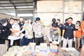 Polda Jambi musnahkan barang bukti 42kg sabu-sabu sitaan dari pengedar berjaringan internasional