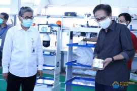 Menristek apresiasi Robot RAISA bantu tenaga medis tangani pasien COVID-19