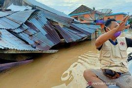 Ratusan rumah warga OKU Selatan diterjang banjir bandang