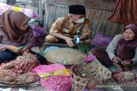 Harga bawang merah di wilayah Tanah Bumbu Rp60.000/kg