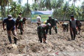 Kodim Nagan Raya tingkatkan ketahanan pangan bersama petani