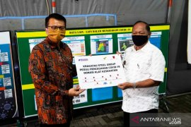 Krakatau Steel distribusikan APD untuk tenaga medis Kota Cilegon