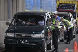 Polisi halau 35.945 kendaraan pemudik